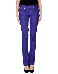 Ralph Lauren Denim Pants Purple