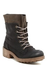 Coolway Brooks Lace Up Boot Black