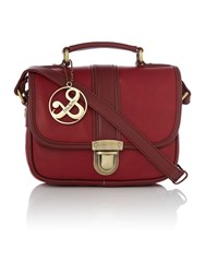 Ollie And Nic Lou Red Crossbody