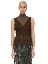 Damir Doma Techno And Silk Fil Coupe Top