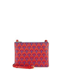 Bayley Duo Pouch Crossbody Bag Red Liberty London