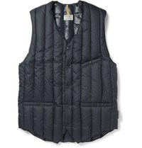 Rocky Mountain Featherbed Six Month Quilted Shell Down Gilet Navy