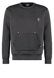 Jaded London Luxe Sweatshirt Black