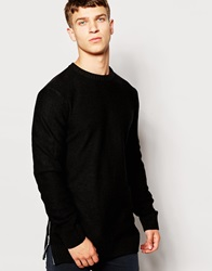 Another Influence Side Zip Jumper Black