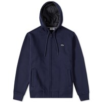 Lacoste Full Zip Hoody Blue