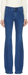 Stella Mccartney Blue Pacific Flare Jeans