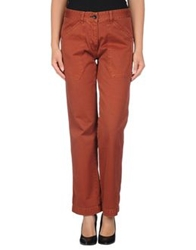 Shine Casual Pants Brown