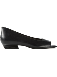 Marsell Marsell Open Toe Pumps Black
