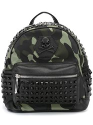 Philipp Plein 'Atlantide' Backpack Black