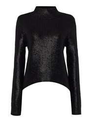 Label Lab Limited Edition Black Coated Jumper