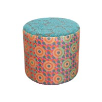 Desigual Patch Pouf Red