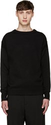 Christophe Lemaire Black Guernsey Sweater