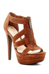 Jessica Simpson Saylor High Heel Sandal Brown