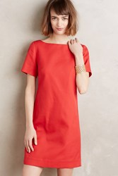 Maeve Alexia Bow Back Shift Bright Red