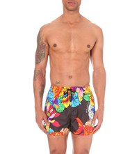 Dsquared2 Scuba Print Swim Trunks Black Multi