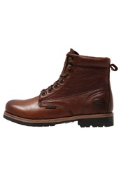 Dockers By Gerli Laceup Boots Braun Dark Brown