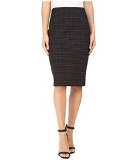 Sanctuary Simone Skirt Etienne Plaid Women's Skirt Black