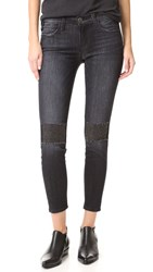 Current Elliott The Stiletto Jeans With Patches Montrose With Studs