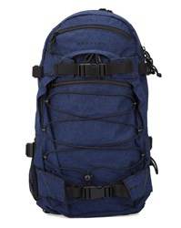 Forvert Navy New Louis Striped Flannel Backpack 20 L Blue