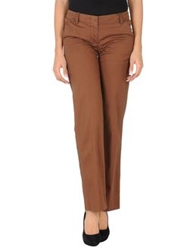 Dkny Casual Pants Brown