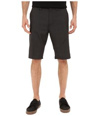 O'neill Delta Plaid Shorts Black Men's Shorts