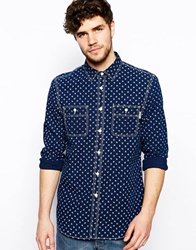 Jack Wills Albany Shirt With Anchor Print White