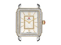 Michele 16Mm Deco Ii Mid Size Diamond Two Tone Diamond Dial Two Tone Watches Metallic