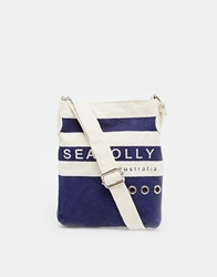 Seafolly Sailor Across Body Bag Multi