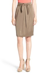 Women's Leith Tie Front Skirt