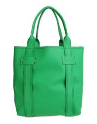 Large Leather Bags Green