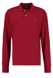 Gant Polo Shirt Dark Red