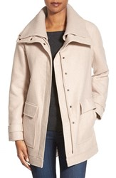 Women's Nordstrom Collection Double Cloth Wool Blend Jacket