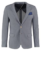 Scotch And Soda Suit Jacket Blue