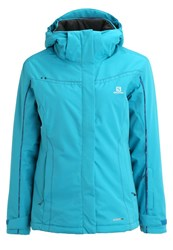 Salomon Stormseeker Ski Jacket Kouak Blue Petrol