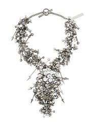 Philipp Plein 'Punk Princess' Necklace Metallic