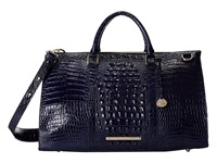 Brahmin Anywhere Weekender Ink Handbags Navy