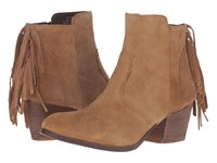 Matisse Espana Tan Leather Suede Women's Boots Brown
