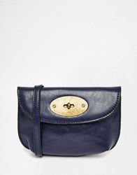 Liquorish Mini Cross Body Bag Blue