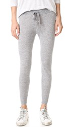 James Perse Cashmere Genie Pants Heather Grey