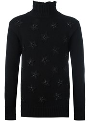 Ermanno Scervino Star Patch Jumper Black