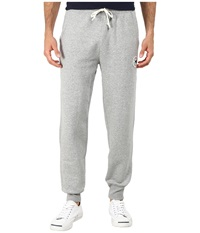 Converse Core Rib Cuff Pants Grey Heather Men's Casual Pants Gray