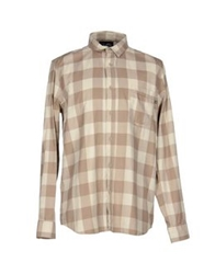 Cheap Monday Shirts Khaki