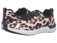 Jessica Simpson Farahh Natural Leopard Jersey Women's Shoes Multi