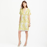 J.Crew Pre Order Collection Palm Tree Sequin Lace Dress