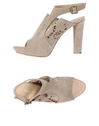 Peter Flowers Sandals Light Grey