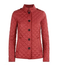 Burberry Brit Ashurst Quilted Jacket Female Red