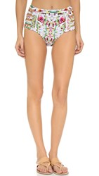 6 Shore Road Chloe Bikini Bottoms Rainforest Floral