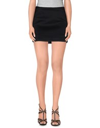 Amy Gee Skirts Mini Skirts Women Black