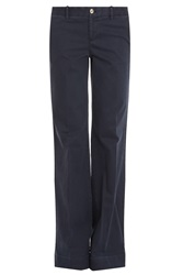 Pt01 Terry Plain Flare Trousers
