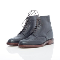 Marcus De Brogue Boot Blue